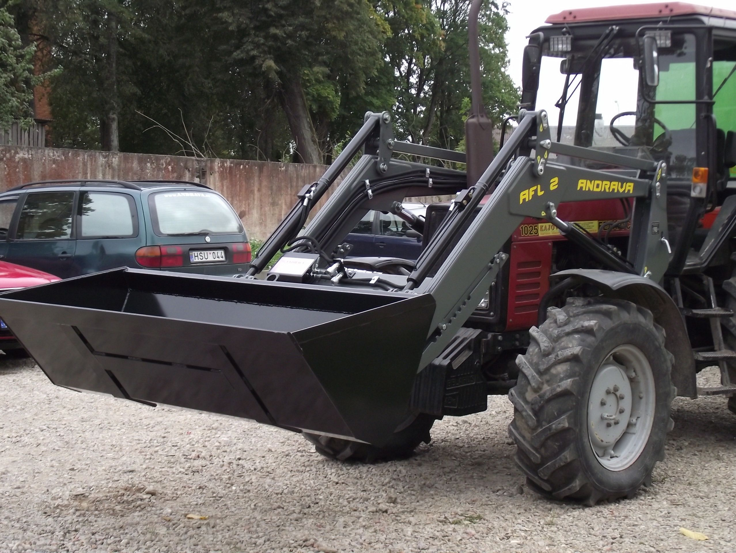 FRONT LOADER MOUNTED IMPLEMENTS